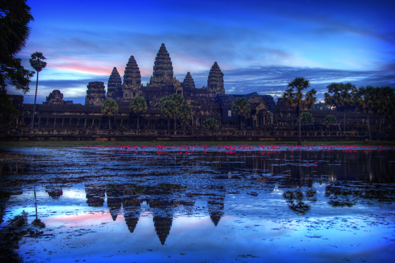 Ankor Wat - Blue Hour